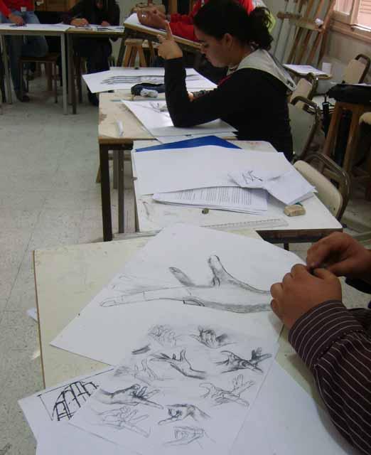 سنة أولى رسم - السداسي 1 - 2007 - (isamk) Dess2010