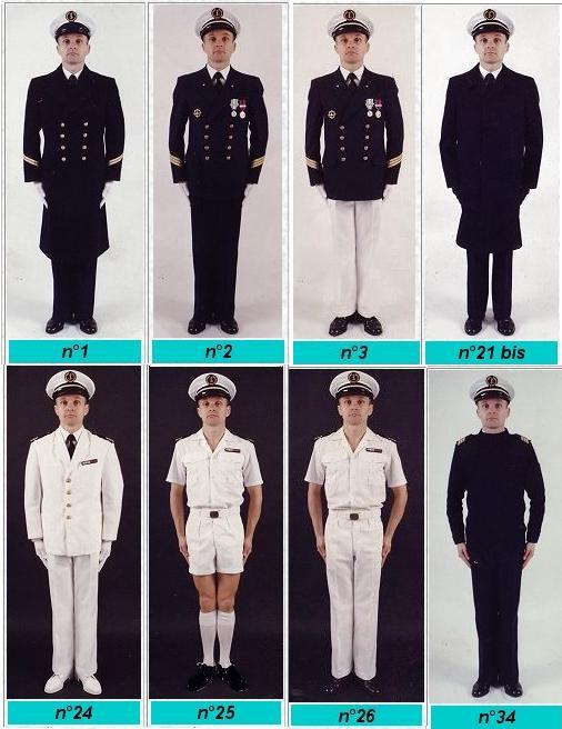 [Les traditions dans la Marine] Le port du sabre Tenue310