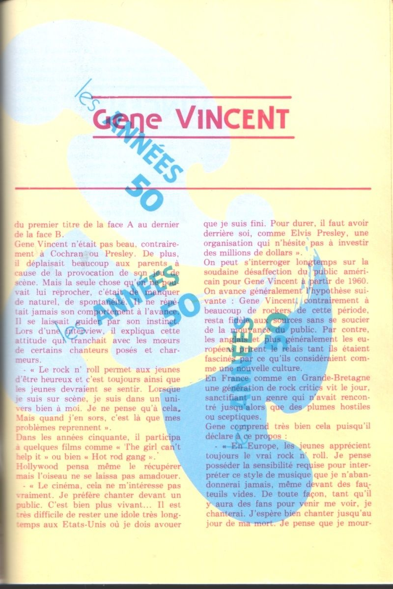 une mini bio de Gene Gene_v12