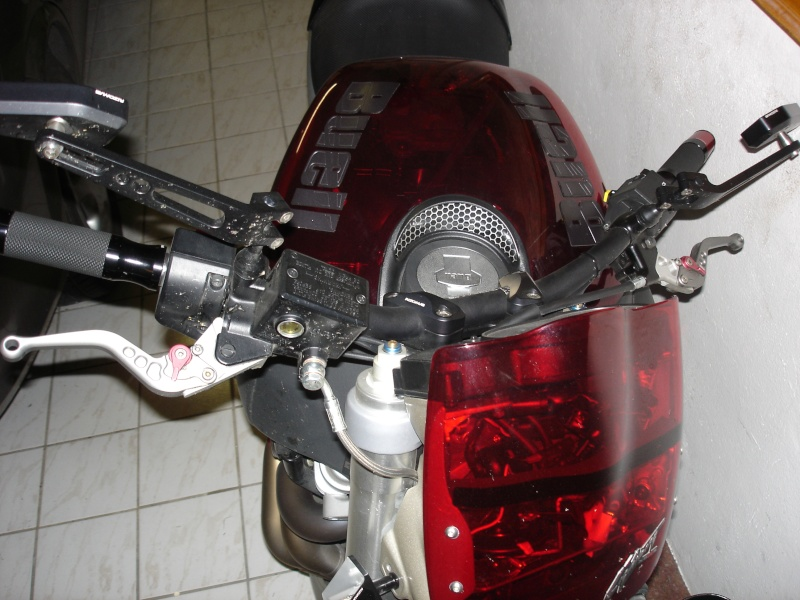 Leviers de frein et d'embayage CRG Crg310