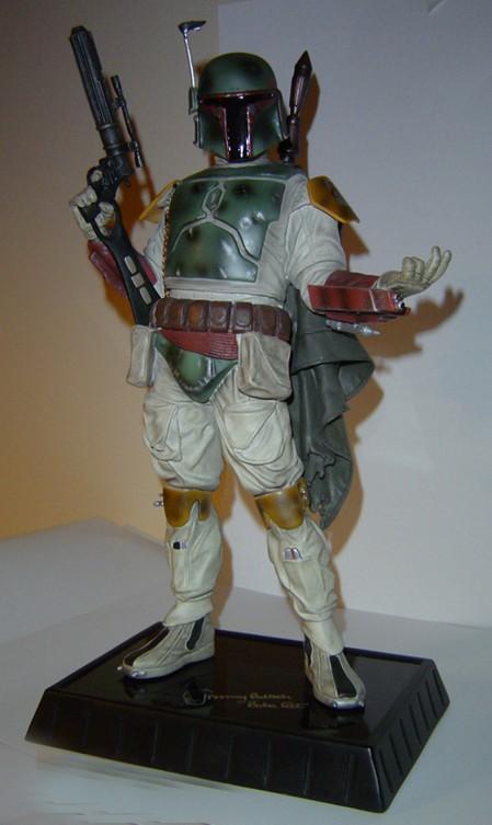 Boba Fett Statue Dsc04910