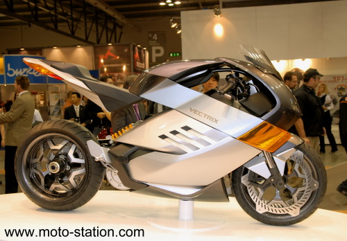 News moto 2008 : Vectrix Electric Superbike Vectri12