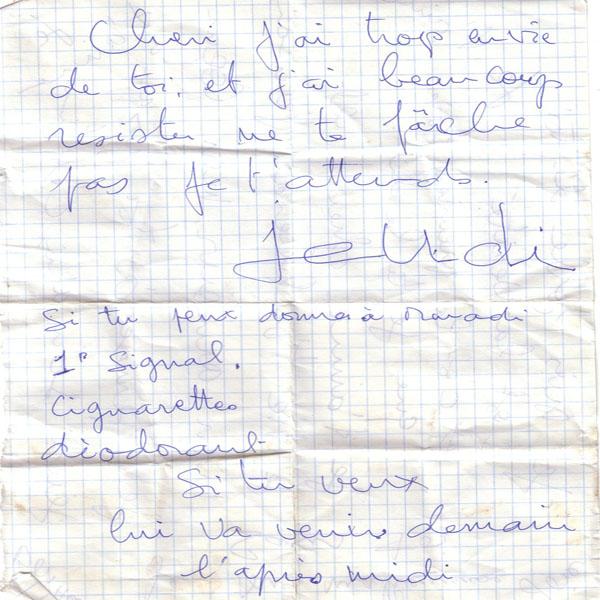 [Campagne] LES COMORES - TOME 001 Lettre10