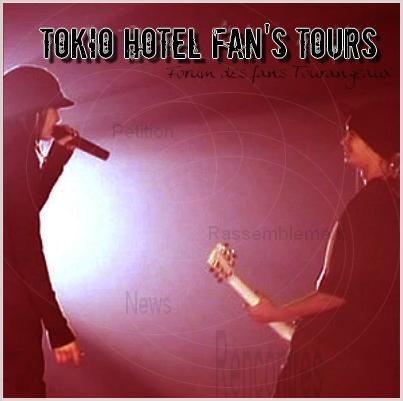 Tokio Hotel Fan's Tours