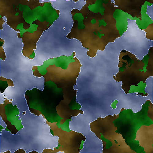 The World Map Map210
