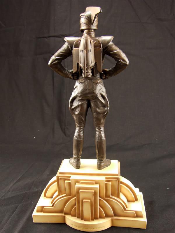 """ROCKETEER """"Faux Bronze"""" [statue] Azz10"""
