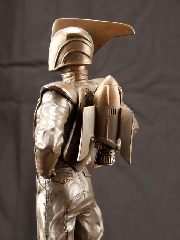 "ROCKETEER ""Faux Bronze"" [statue] Azzzz10"