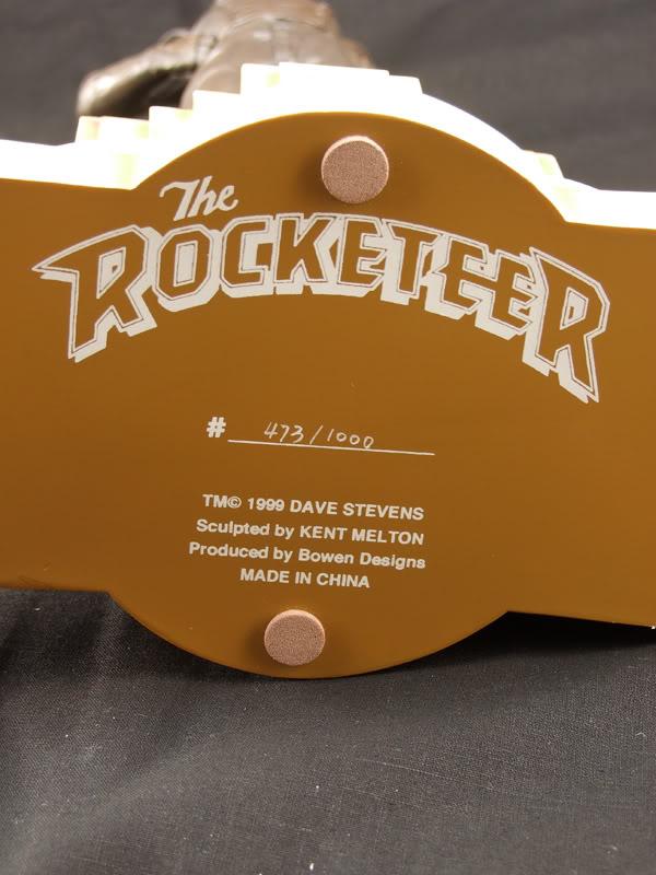 "ROCKETEER ""Faux Bronze"" [statue] Numero10"