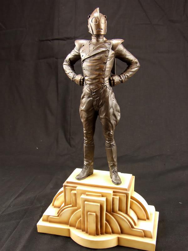 "ROCKETEER ""Faux Bronze"" [statue] Roc10"