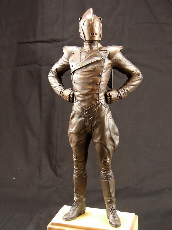 "ROCKETEER ""Faux Bronze"" [statue] Roc110"