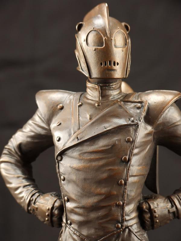 "ROCKETEER ""Faux Bronze"" [statue] Roc210"