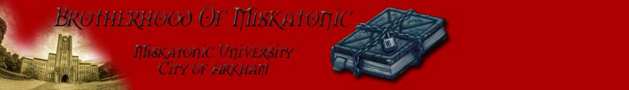 Brotherhood of Miskatonic