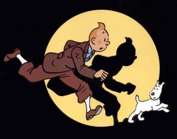 Tintin et Milou Tintin10