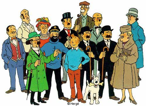 Tintin et Milou Tintin11