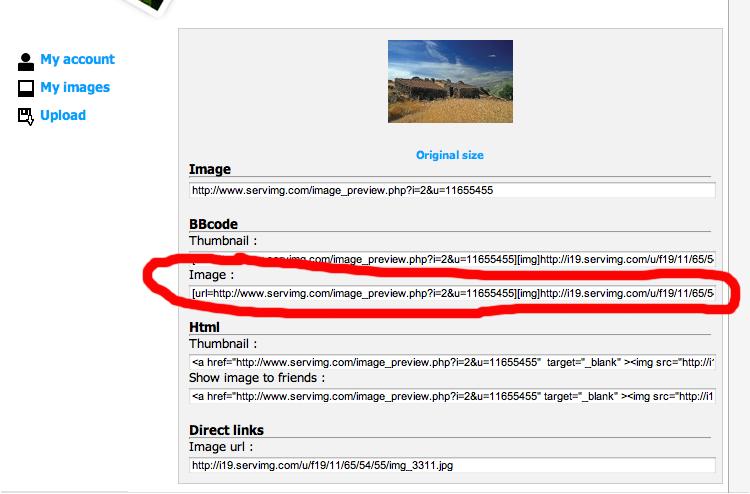 Como Publicar uma Imagem Imagem10