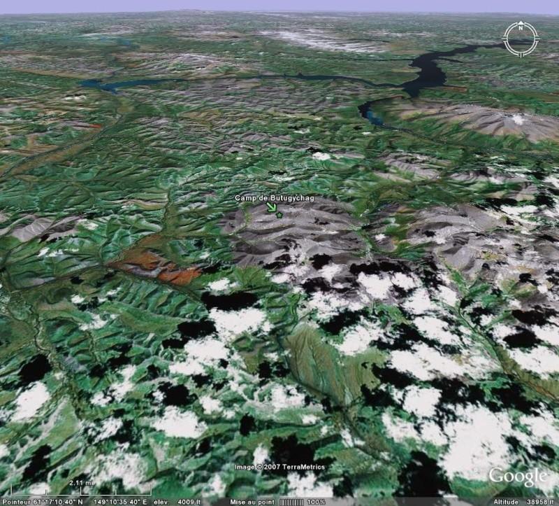 Bagnes et Camps d'internement / déportation découverts avec Google Earth Butu10