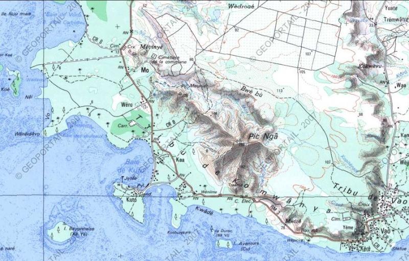 Bagnes et Camps d'internement / déportation découverts avec Google Earth Carte10