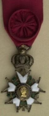 DEBLAIS (Félix) Chef de bataillon - GARDE - Joigny (YONNE) Offici30