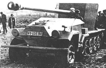 Les chasseurs de char: différences de concepts - Page 2 Sdkfz_10