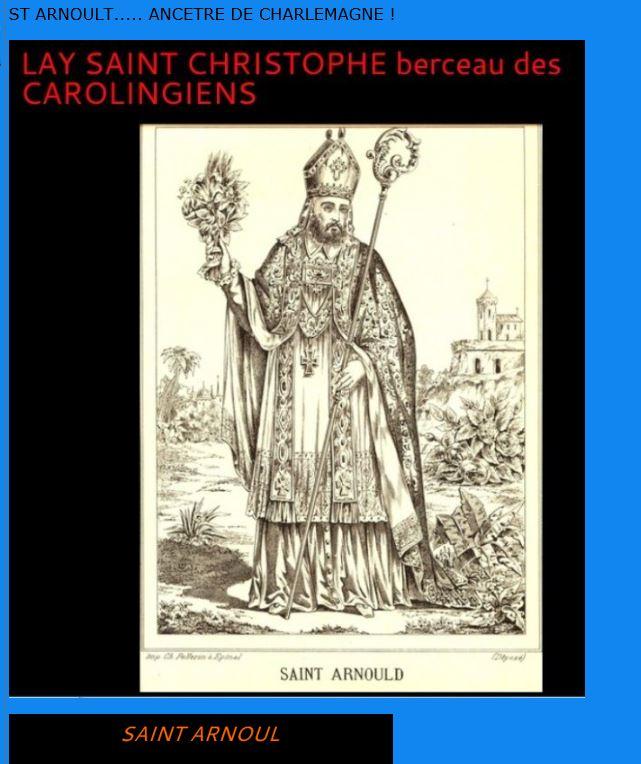 LA VIERGE MARIE A BOUXIERES AUX DAMES AU NORD DE NANCY EN LORRAINE-BERCEAU CAROLINGIENS-CAPETIENS après le FRANKENBOURG - Page 8 Arnoul10