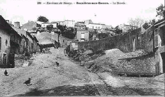 LA VIERGE MARIE A BOUXIERES AUX DAMES AU NORD DE NANCY EN LORRAINE-BERCEAU CAROLINGIENS-CAPETIENS après le FRANKENBOURG Bouxie10