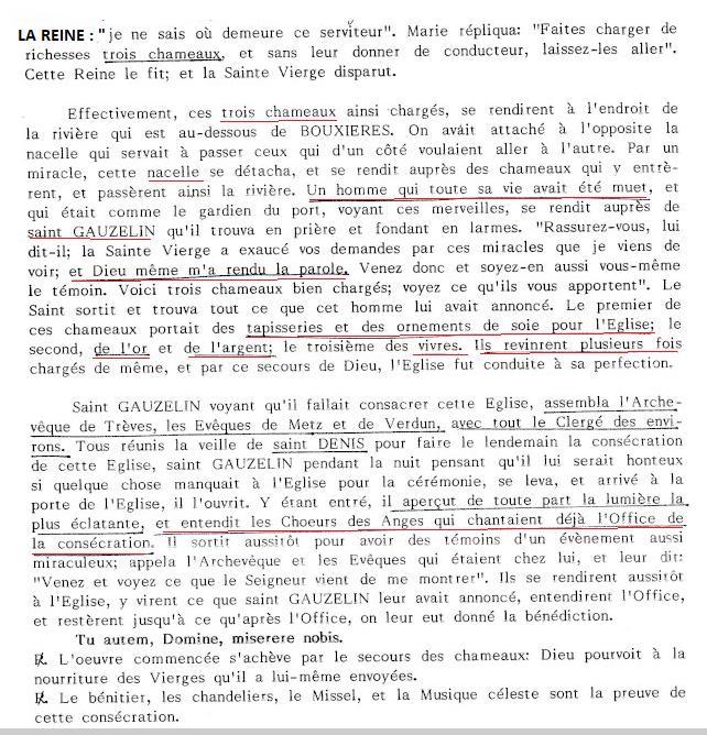 LA VIERGE MARIE A BOUXIERES AUX DAMES AU NORD DE NANCY EN LORRAINE-BERCEAU CAROLINGIENS-CAPETIENS après le FRANKENBOURG Chamea11