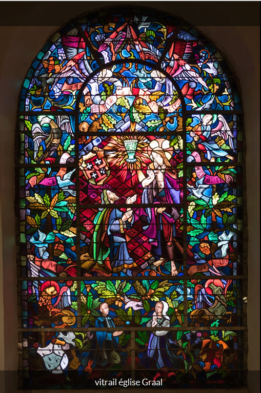 LA VIERGE MARIE A BOUXIERES AUX DAMES AU NORD DE NANCY EN LORRAINE-BERCEAU CAROLINGIENS-CAPETIENS après le FRANKENBOURG - Page 8 Eglise11