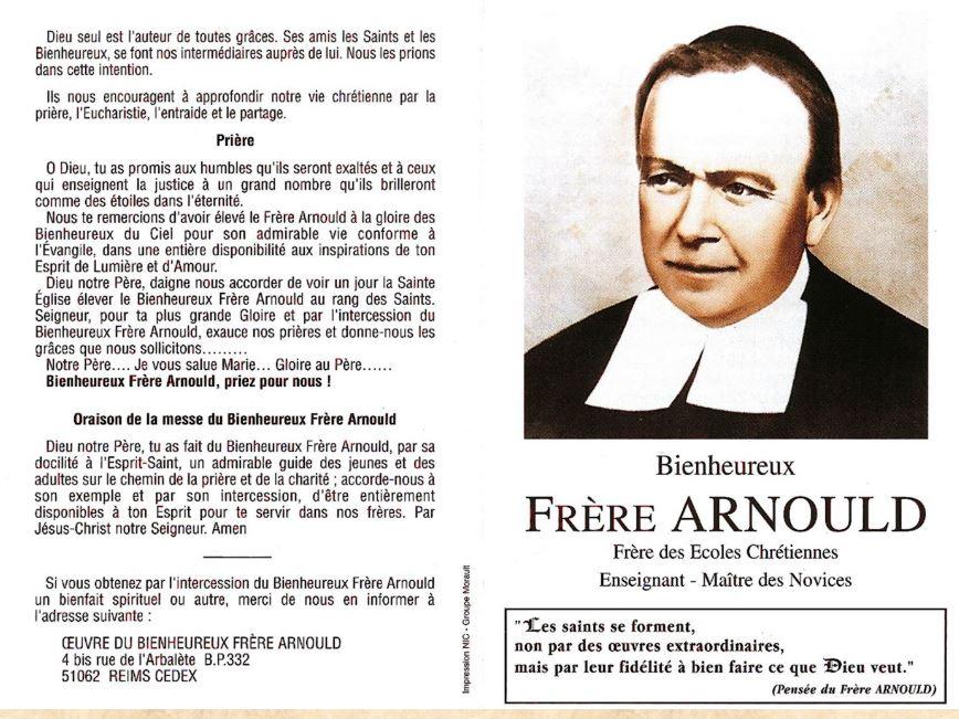 DU BIENHEUREUX FRERE ARNOULD.... A FRERE ANDRE, Saint. - Page 2 Frere_10