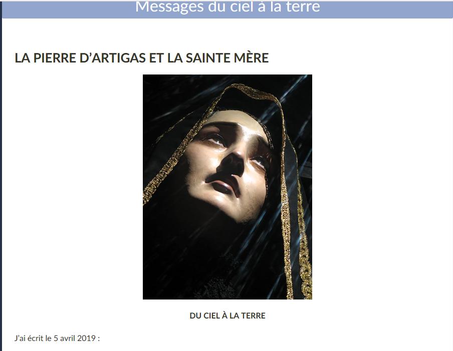 GIORGIO BONGIOVANNI.... UN HOMME PAS COMME LES AUTRES... AU SERVICE DE JESUS ET MARIE - Page 37 Marie_10