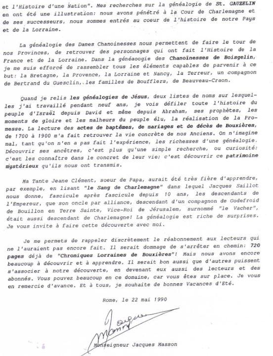 LA VIERGE MARIE A BOUXIERES AUX DAMES AU NORD DE NANCY EN LORRAINE-BERCEAU CAROLINGIENS-CAPETIENS après le FRANKENBOURG - Page 8 Masson13