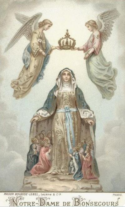 SI IMPORTANTES APPARITIONS MARIALES AU FRANKENBOURG  ! - ALSACE - 1872.1877 Notre10