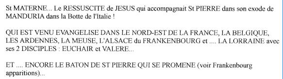 LA VIERGE MARIE A BOUXIERES AUX DAMES AU NORD DE NANCY EN LORRAINE-BERCEAU CAROLINGIENS-CAPETIENS après le FRANKENBOURG St_mat11