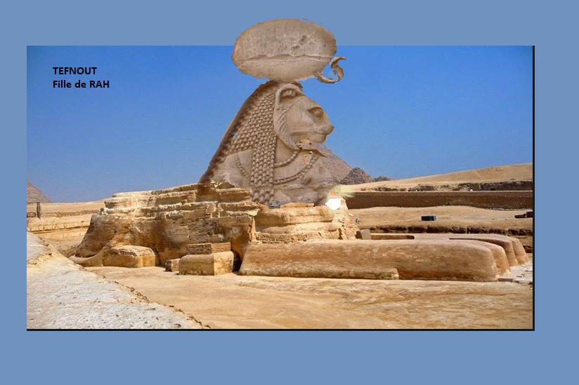 LES EGYPTIENS NE SONT PAS LES BATISSEURS DES PYRAMIDES   - Page 5 Tefnou10