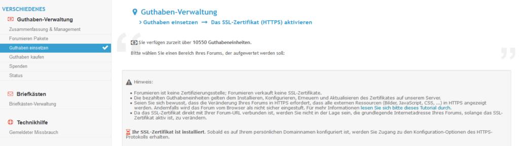Https freigeschaltet und bekomme nur noch Warnungen vom Browser Zerti110