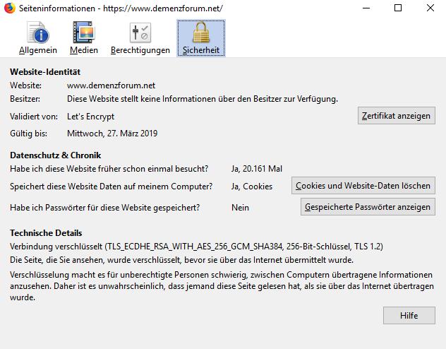 Https freigeschaltet und bekomme nur noch Warnungen vom Browser Zerti210