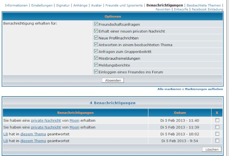 Neuerungen im Forum Tool311