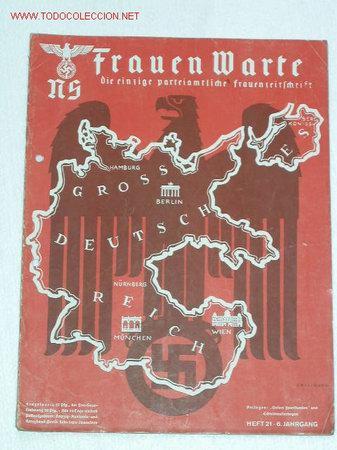 NS FRAUEN WARTE...revista nazi dirigida a las mujeres 25275811