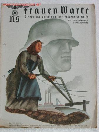 NS FRAUEN WARTE...revista nazi dirigida a las mujeres 25276211