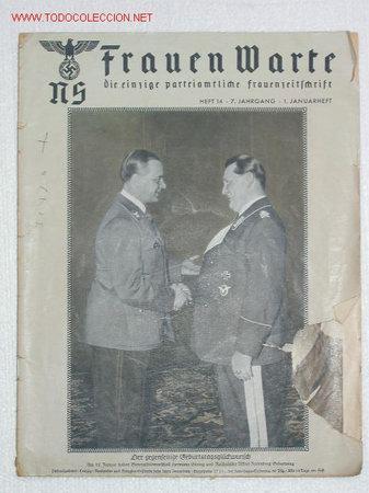 NS FRAUEN WARTE...revista nazi dirigida a las mujeres 25276611