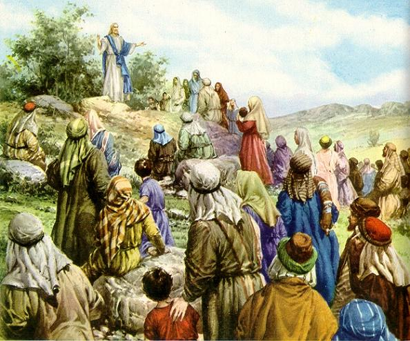 El sermon de la Montaña ( Mateo -5 ( Bienaventuranzas ) 86053f10