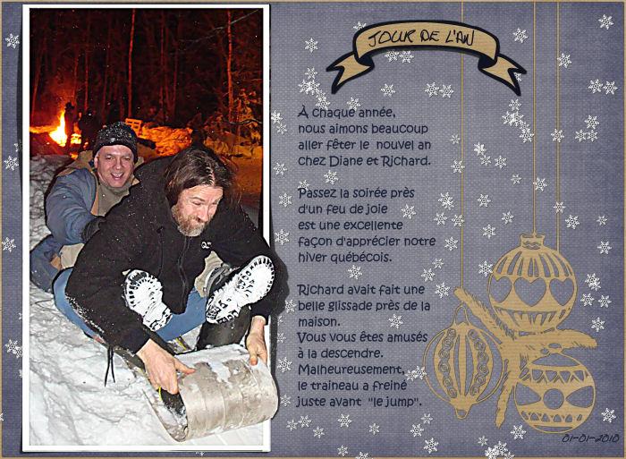 challenge consignes n°1 jusqu'au 10 janvier Daniel10