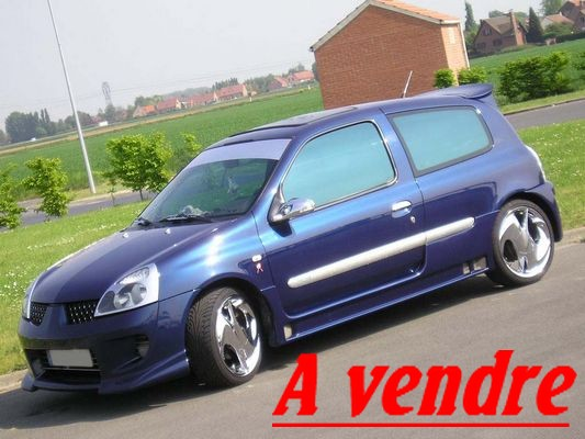 vends    clio dci tuning version extreme P1010013