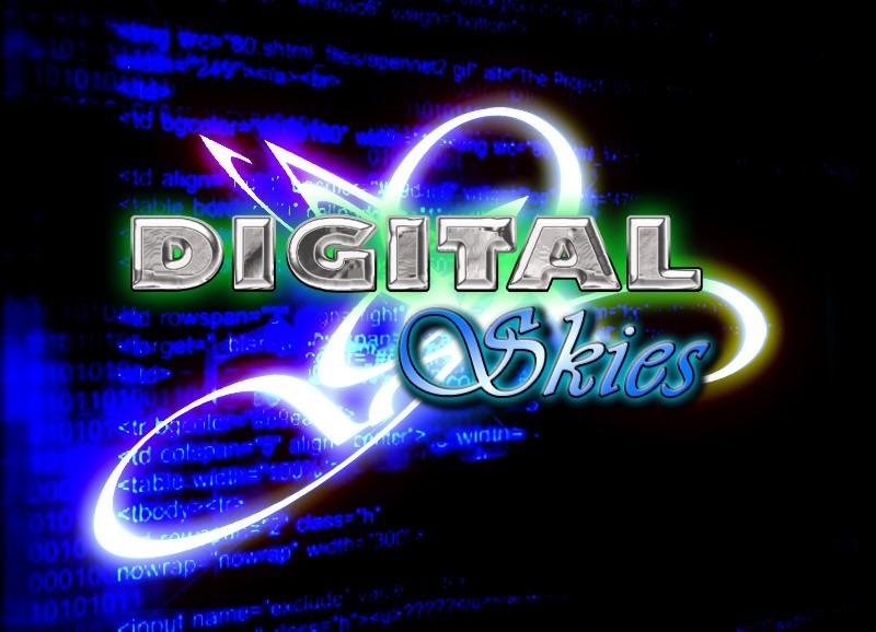 DigitalSkies Logo Version1 Design11