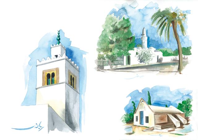 رياض الجبالي 2005 القيروان - 2008 سيدي بوزيد Archit10