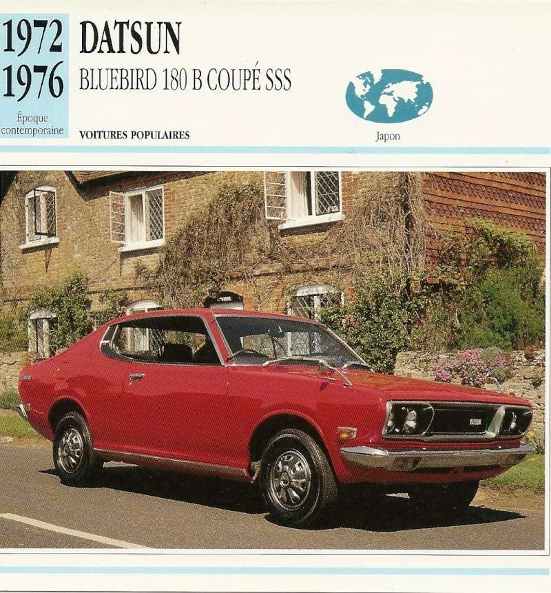 TOPIC OFFICIEL DATSUN 180B: 610 & 810 et 180B SSS Numari10