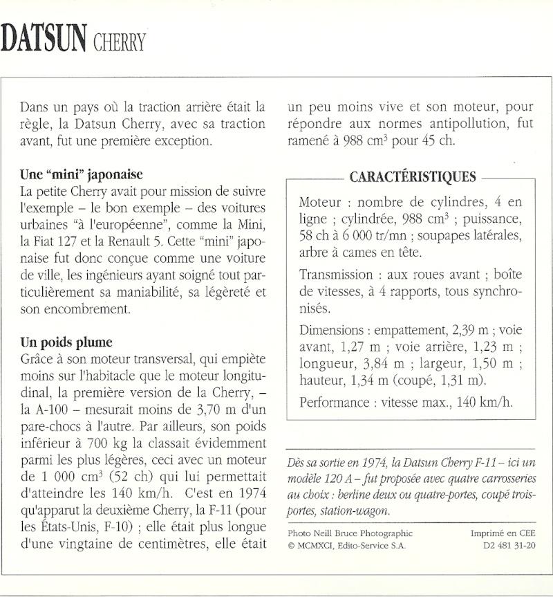 topic officiel pots de yaourts  DATSUN 100A,120 A ,120AFII - Page 2 Numari15