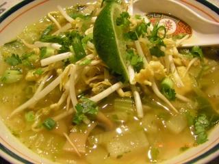 Soupe aux légumes Thaï Imgp1412