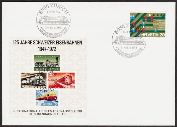 Eisenbahn-Stempel/Belege gegen.... Eisenb12