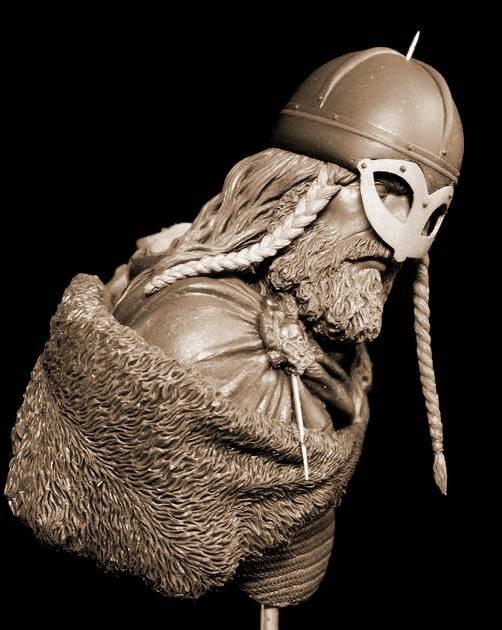Yury Serebryakov's new bust - Viking B10