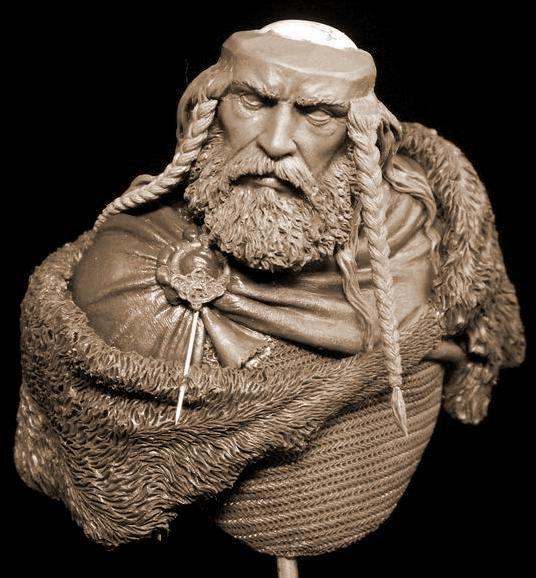 Yury Serebryakov's new bust - Viking F10